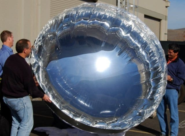 Globos solares gigantes