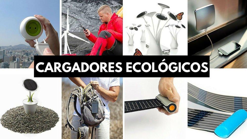 cargadores ecológicos