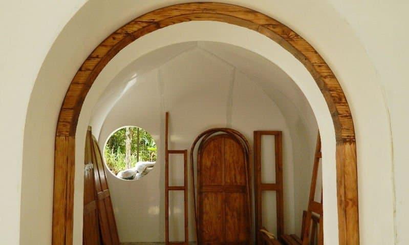 omo hacer una casa Hobbit7