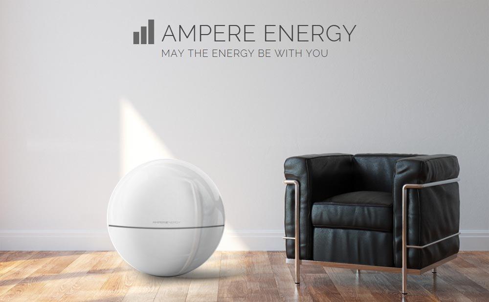 Ampere Energy, baterías inteligentes, baterías autosuficiencia