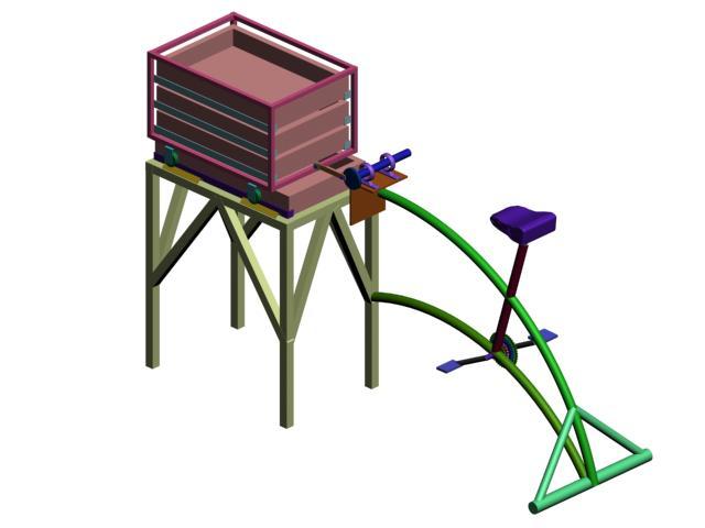 Biciclasificadora de semillas