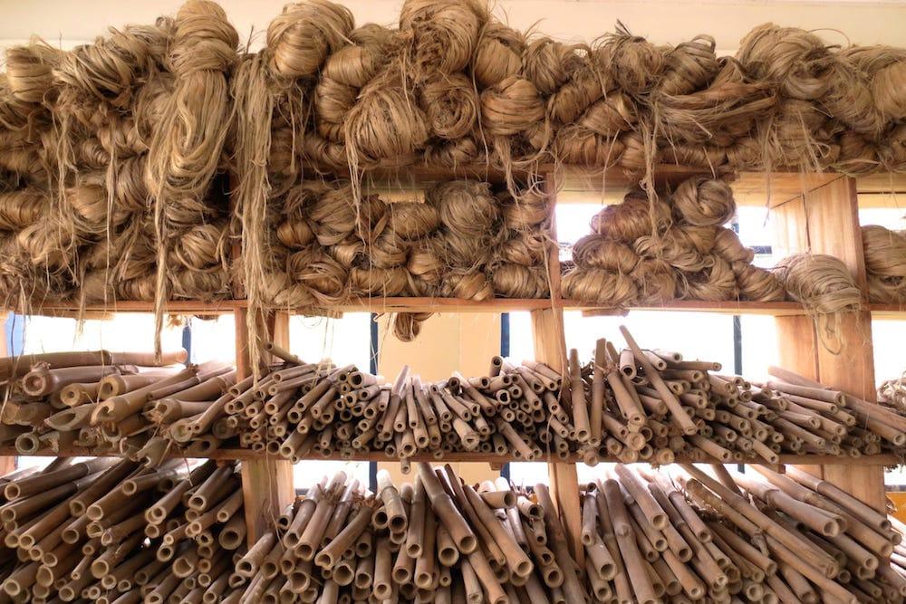 Ghana Bamboo Bikes materiales