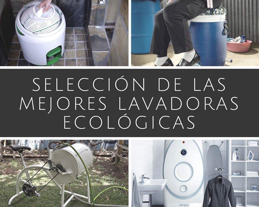 Selección de las mejores lavadoras ecológicas