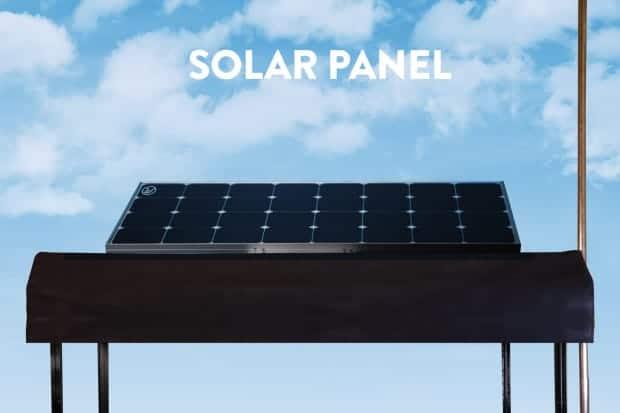 Wheelys 4 Green Warrior Panel solar