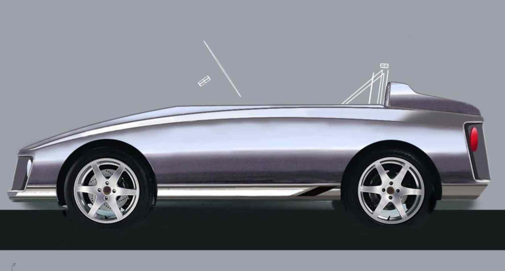 Diseñan un coche eléctrico para niños de 5 a 10 años