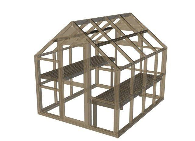 como construir una estructura de madera