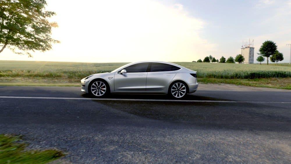 Model 3 Tesla electrico