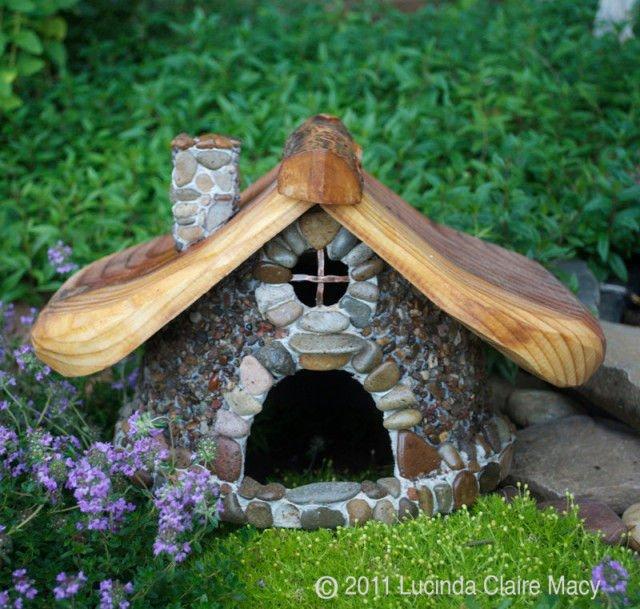 Increíbles casas de piedra en miniatura1