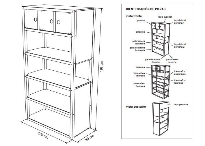Planos para construir muebles de madera for Manual para muebles de cocina