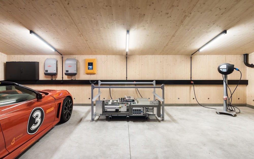Sun2wheel el garaje solar autosuficiente para veh culos - Garaje para coches ...