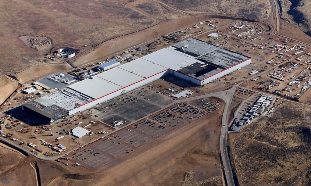 Tesla, Gigafactoría, 2170 célula batería, Model 3, Panasonic, Powerpack 2, Powerwall 2