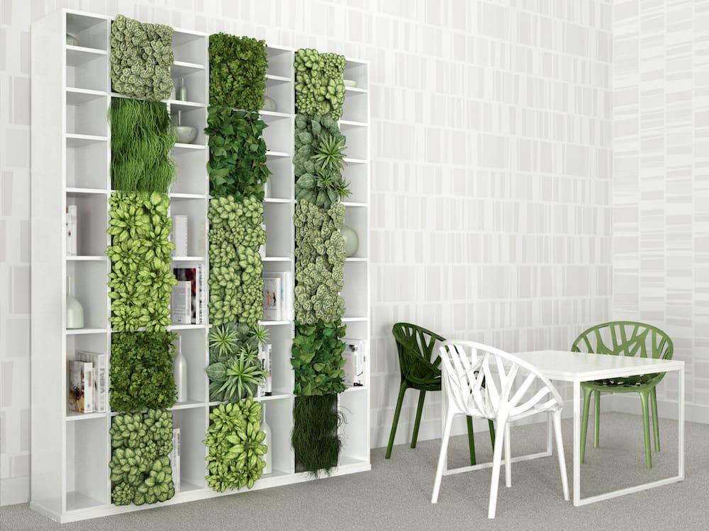 7 beneficios de tener un jard n o huerto vertical en casa for Interior design ufficio