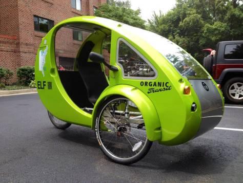 elf bicicleta eléctrica solar