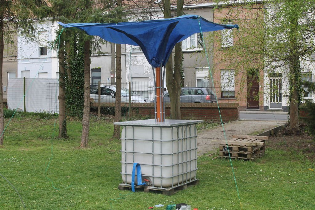 Gu a para fabricar un captador de agua de lluvia casero - Recoger agua lluvia ...