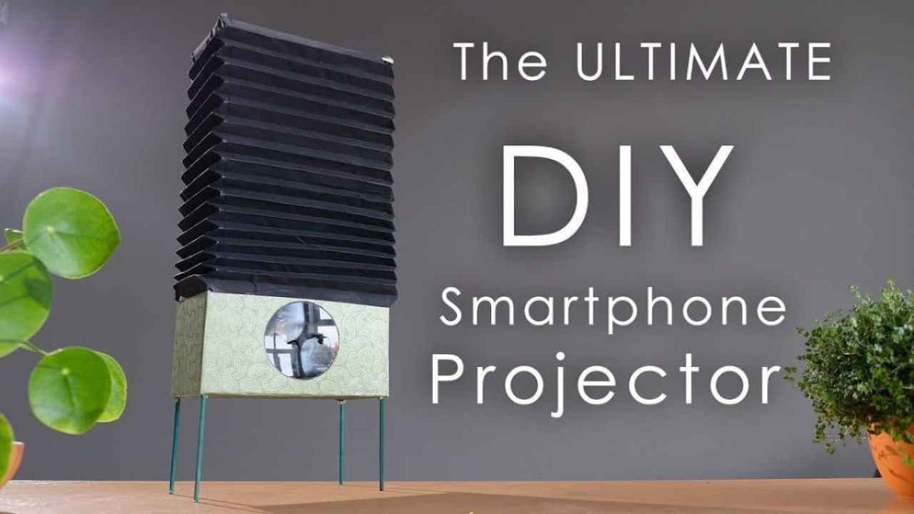 Cómo hacer un simple pero eficaz proyector con tu móvil