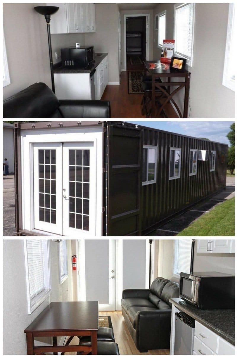 Ya puedes comprar casas prefabricadas en contenedores mar timos en amazon - Casas prefabricadas de contenedores ...
