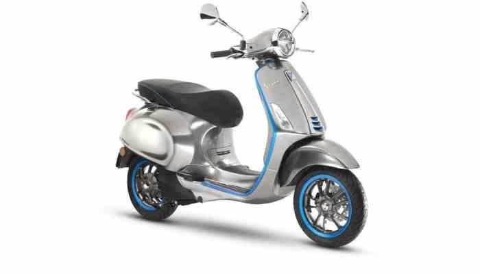 La icónica Vespa contará en 2018 con un modelo 100% eléctrico: la Vespa Elettrica