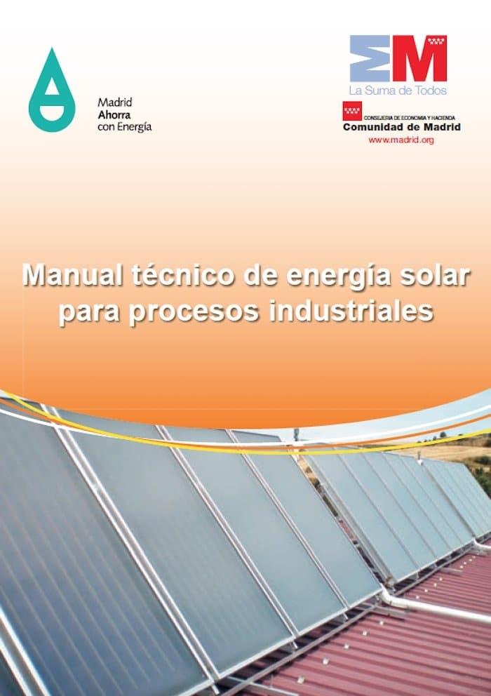 Manual t cnico de energ a solar para procesos industriales - Energia solar madrid ...