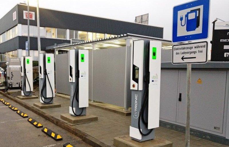 Esta es la primera estación de carga ultrarrápida para coches eléctricos de Europa