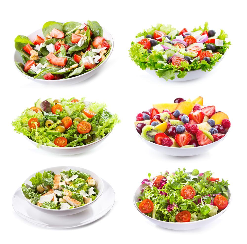 Ensaladas para una dieta sana, variada y con mucho sabor