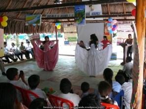 19. Muestra folclórica cumbia