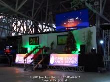 Espectáculo pirotécnico, Feliz Cumpleaños Señor Jesús. Foto: Jose Luis Ropero.