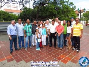 Participantes del VII Concurso del Canario Timbrado Español, Plaza Alfonso López (Valledupar). Foto: Jose Luis Ropero.