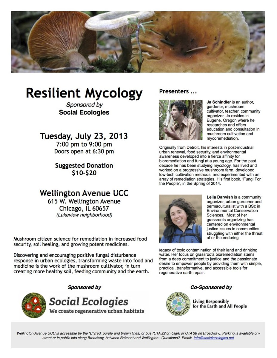 Resilient Mycology
