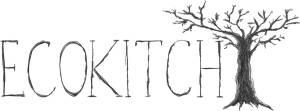 ECOKITCHs logo, som er håndtegnet af Maria Hansen