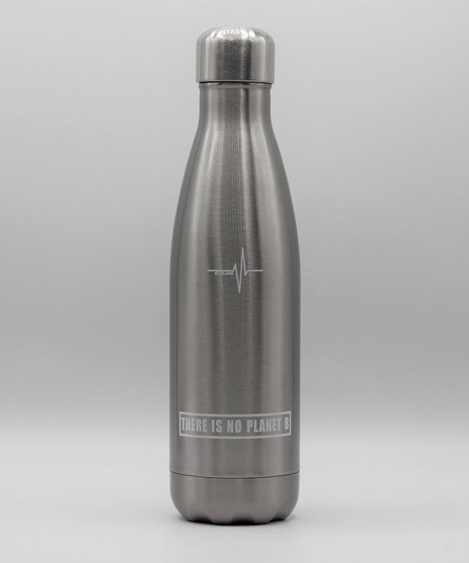 ecological reusable stainless steel thermal bottle ecoland.it silver silver 1