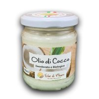 """Olio di cocco deodorato, 200ml, """"Erbe di Mauro"""""""