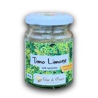 """Timo al limone, sale speziato, 35 g, """"Erbe di Mauro"""""""