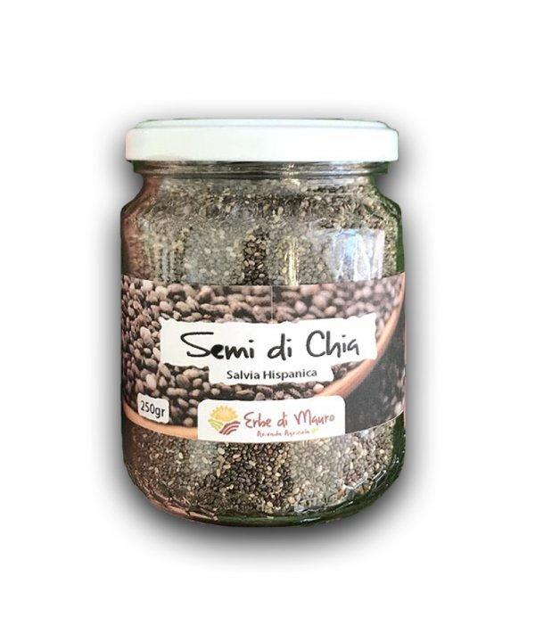 """Semi di chia naturali, 250 g, """"Erbe di Mauro"""""""