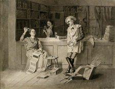 """Estudo para """"O bolicho"""" - 1880"""