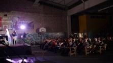 conference gesticule - gwennyn tanguy et son public gymnase volbart sainte savine- ecolaube festival