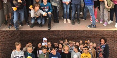 Nos élèves à la rencontre des Gilles de la Main