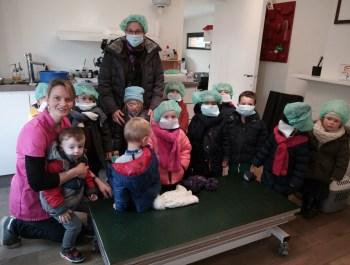 Visite enrichissante chez la vétérinaire Talpe (M1 – Classe de Mme Isabelle)