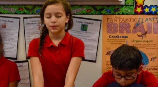 Méditation film cerveau des enfants