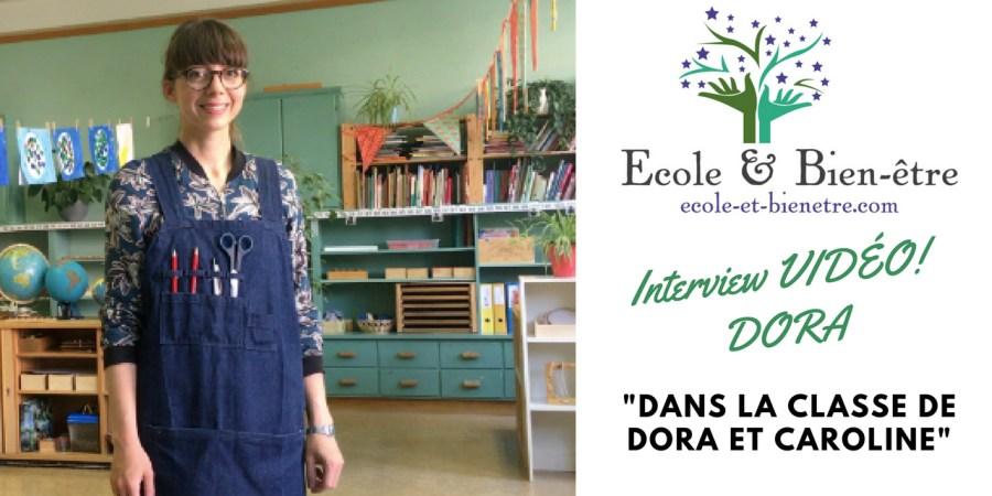 Enseigner à l'école publique autrement - Interview Dora