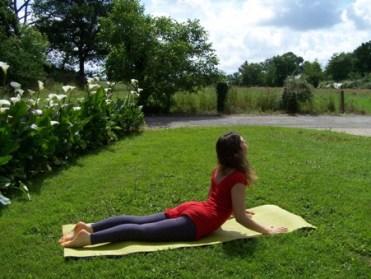 Cobra - posture yoga ouverture coeur