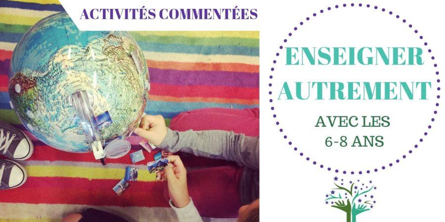 Activités en autonomie et en nature pour les 6-8 ans