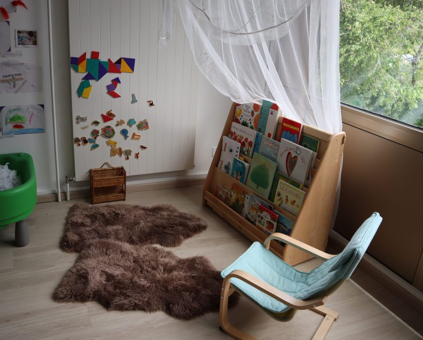 Espace Preschools - Bibliothèue - Ecoline - Reggio Emilia