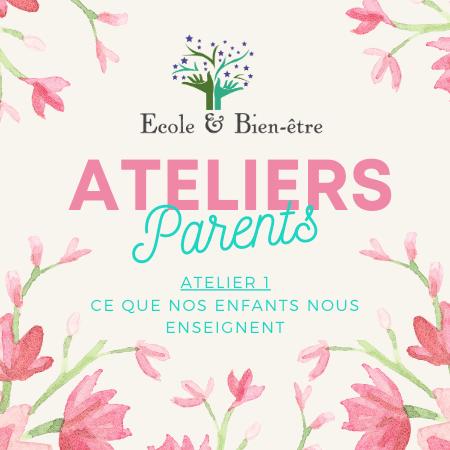 Atelier 1 parents 2021