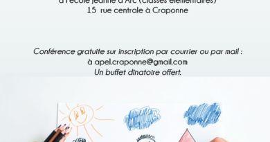"""A venir / 21-03-19 : Conférence pédagogique """"Comment conjuguer autorité et éducation bienveillante"""" (proposée par l'APEL)"""