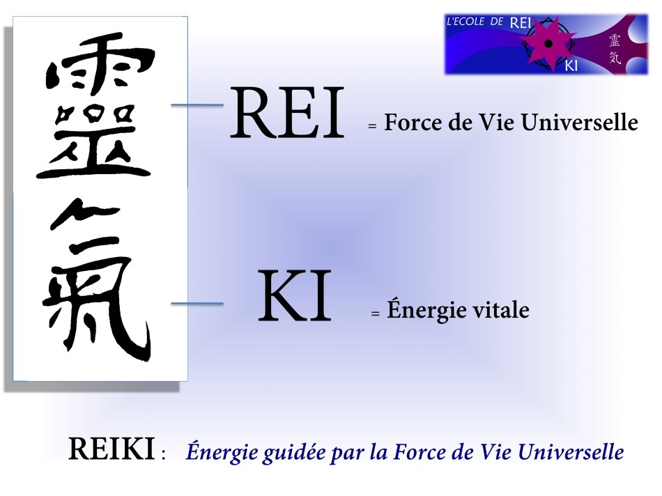 ideogramme Reiki + traduction