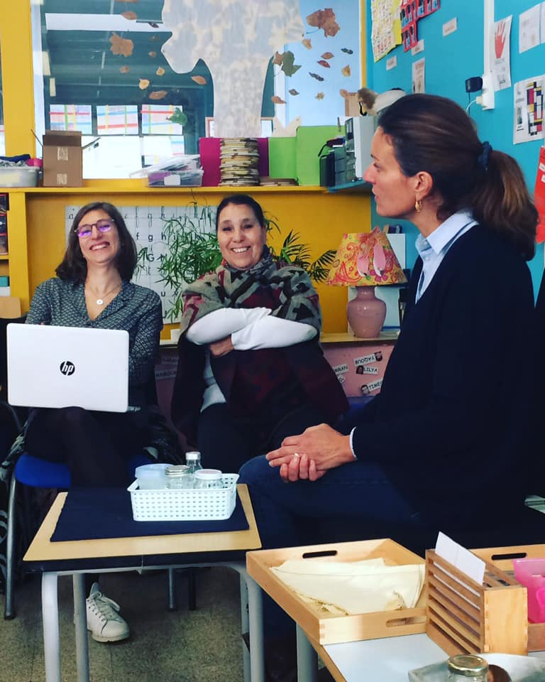 Photo d'équipe éducative