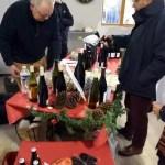 Le stand vin du marché de Noël 2018 de l'école Notre Dame de l'Espérance