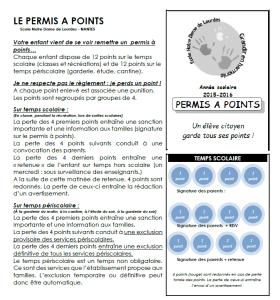 Permis à points 3
