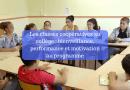 Les classes coopératives au collège : bienveillance, performance et motivation au programme
