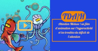 Attention Méduse ! un film d'animation sur l'hyperactivité et les troubles du déficit de l'attention